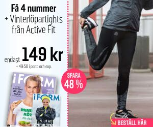 Tidningspremie: I FORM + Active Fit Vinterlöpartights