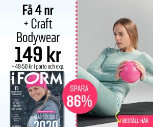 Tidningspremie: I FORM + Craft Bodywear
