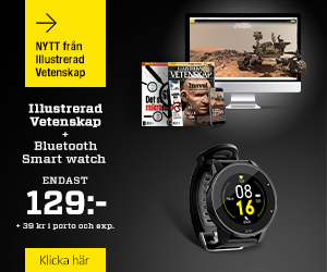 Tidningspremie: Illustrerad Vetenskap + Bluetooth Smart watch